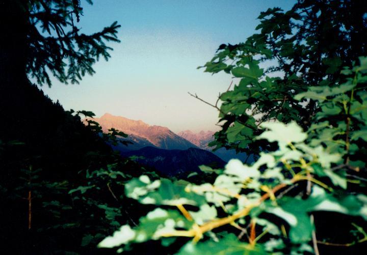 Watzmann im Sonnenaufgang