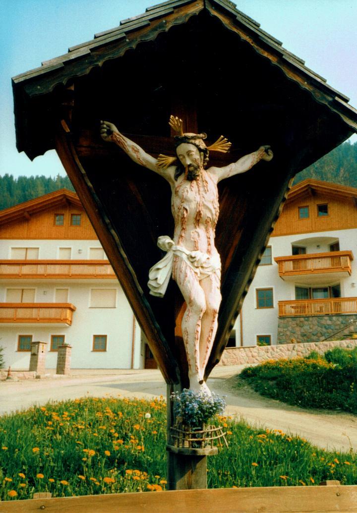 Wegkreuz Vilnöss Südtirol